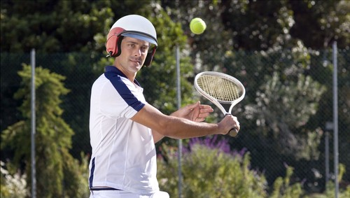 Image result for tennis helmet