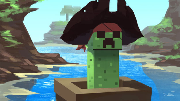 Minecraft Pirate Creeper