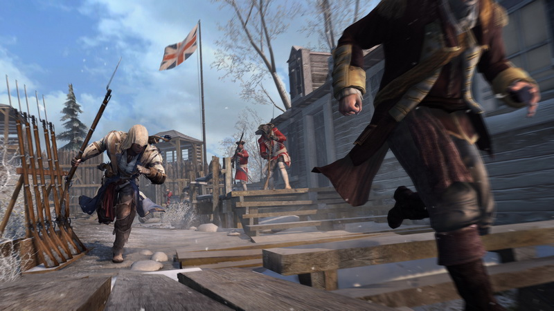 Assassin's Creed III - E3 2012 screenshot 3