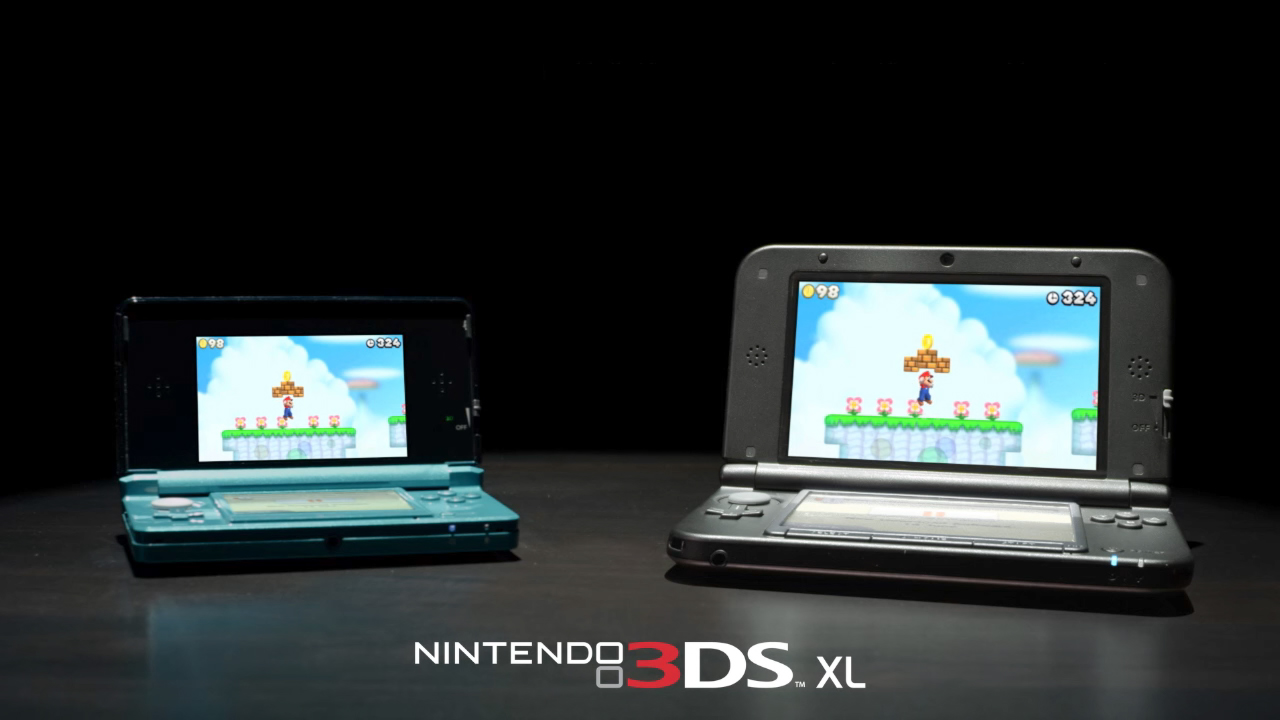 Nintendo 3DS XL versus original 3DS