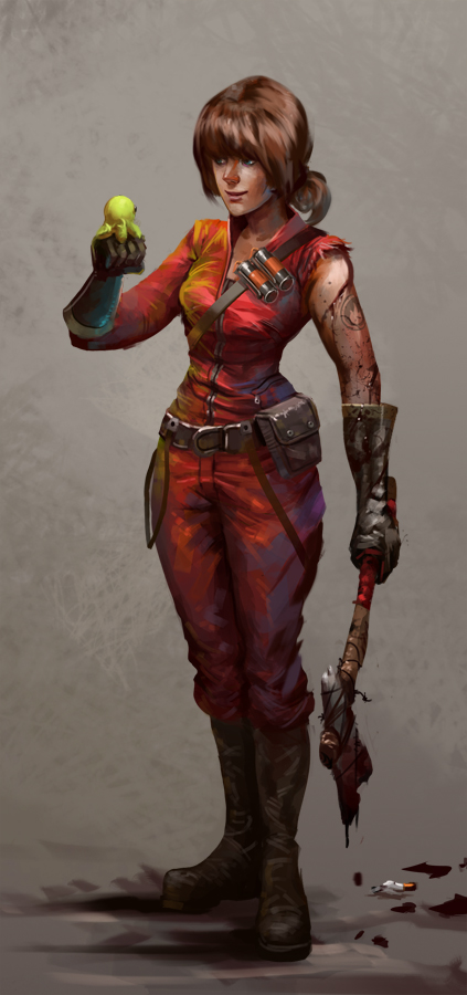 meet the female team tf2 soldier