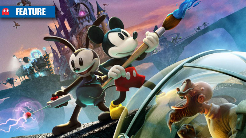 Epic Mickey 2 feature