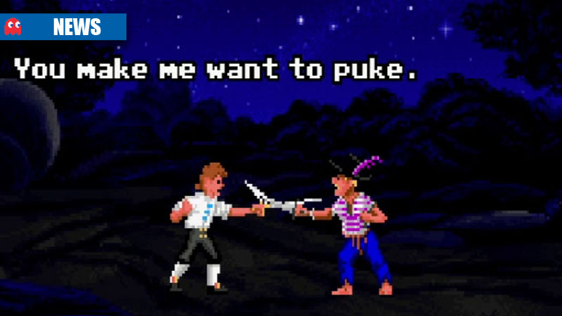 Monkey Island Insult - You make me want to puke