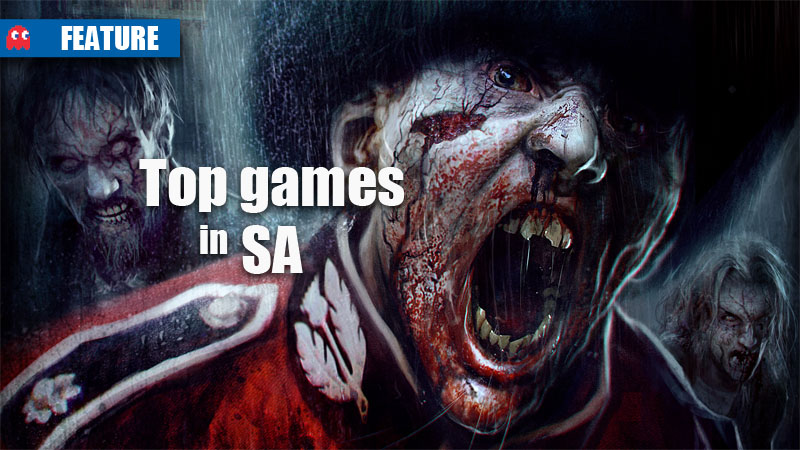 Top Games in SA November 2012