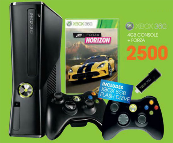 Xbox 360 console bundle (Dion Wired)