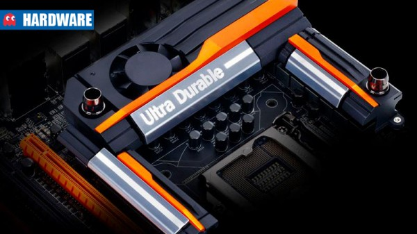 Gigabyte Ultra Durable header