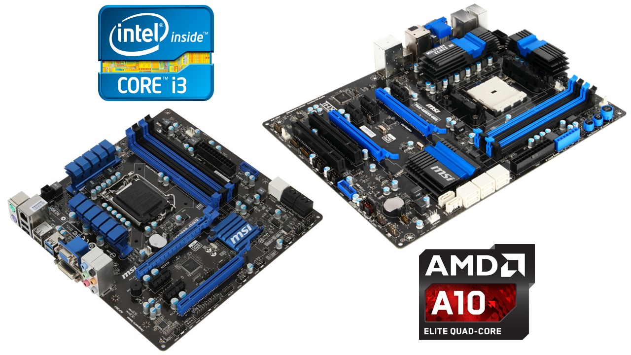 Intel vs AMD: price and features comparison