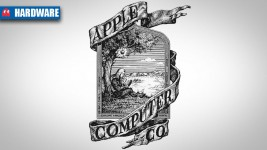 Apple logo - original 1976