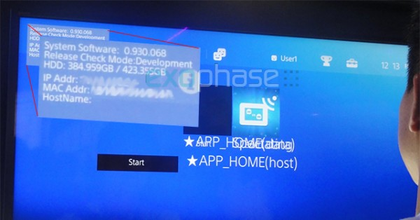 Sony PS4 Knack demo crashed to the console's UI