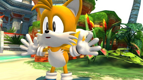 Tails Sonic Generations
