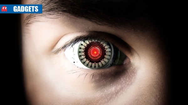 robot eye news header