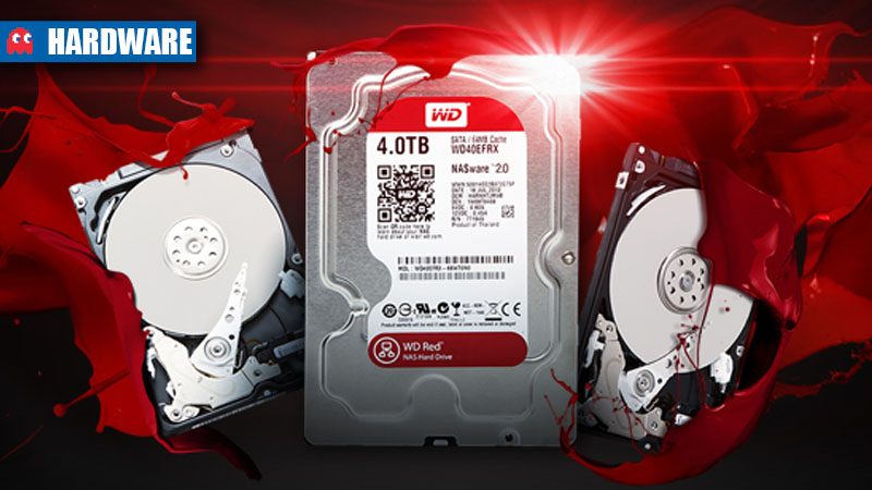 WD 4TB NAS HDD hardware header