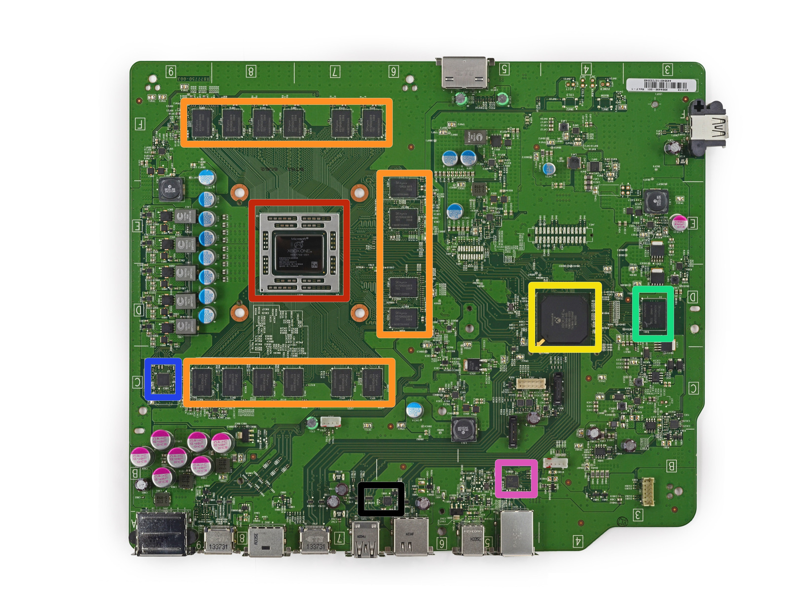 playstation 3 controller diagram with New Xbox One Makes Rattling Sound on Micro Usb Cable For Syncing And Charging Your Nokia Lumia 620 Smart Phone in addition Playstation retropie mod also Ifixit Ps3 Slim Teardown likewise 19718 moreover 156467 Xbox One Hardware And Software Specs Detailed And Analyzed.