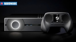 Valve steam machine header hardware