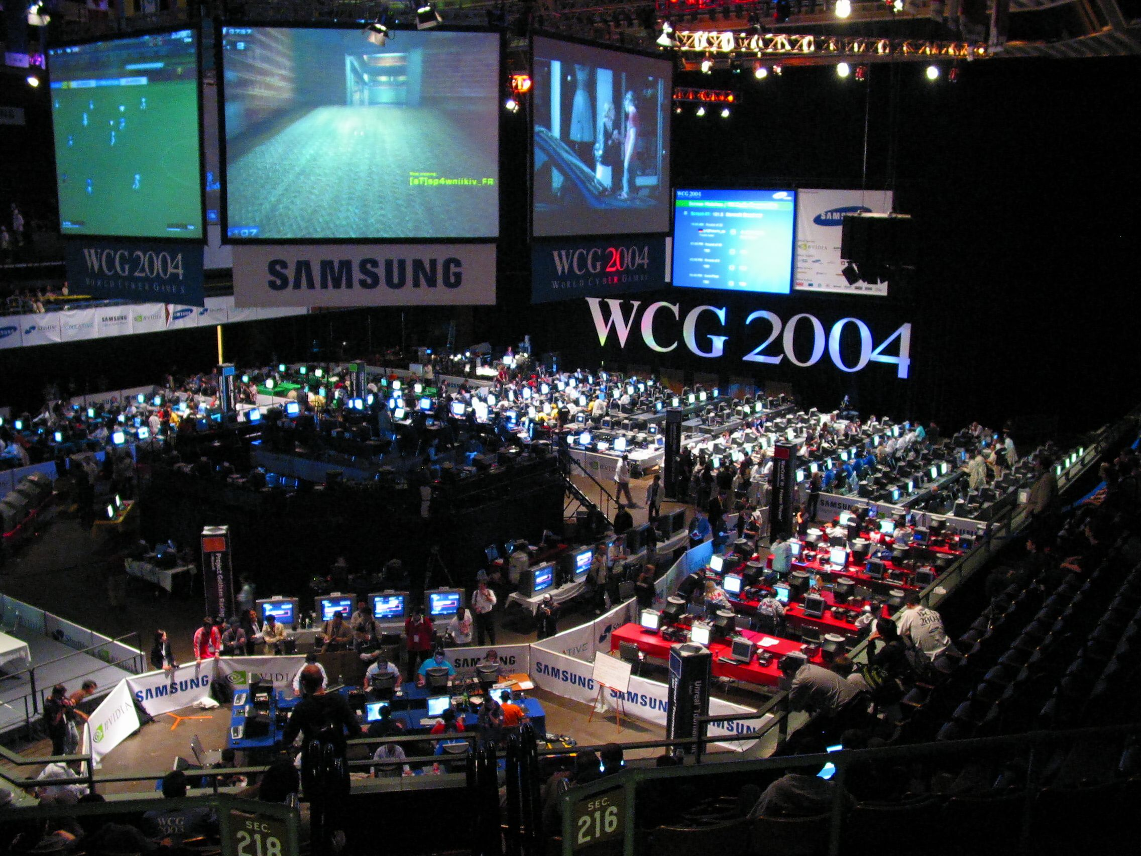 The World Cyber Games WCG Malaysia and Asian