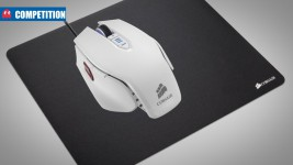 Rebel Tech Corsair Vengeance M65 White mouse + MM200 mouse mat competition