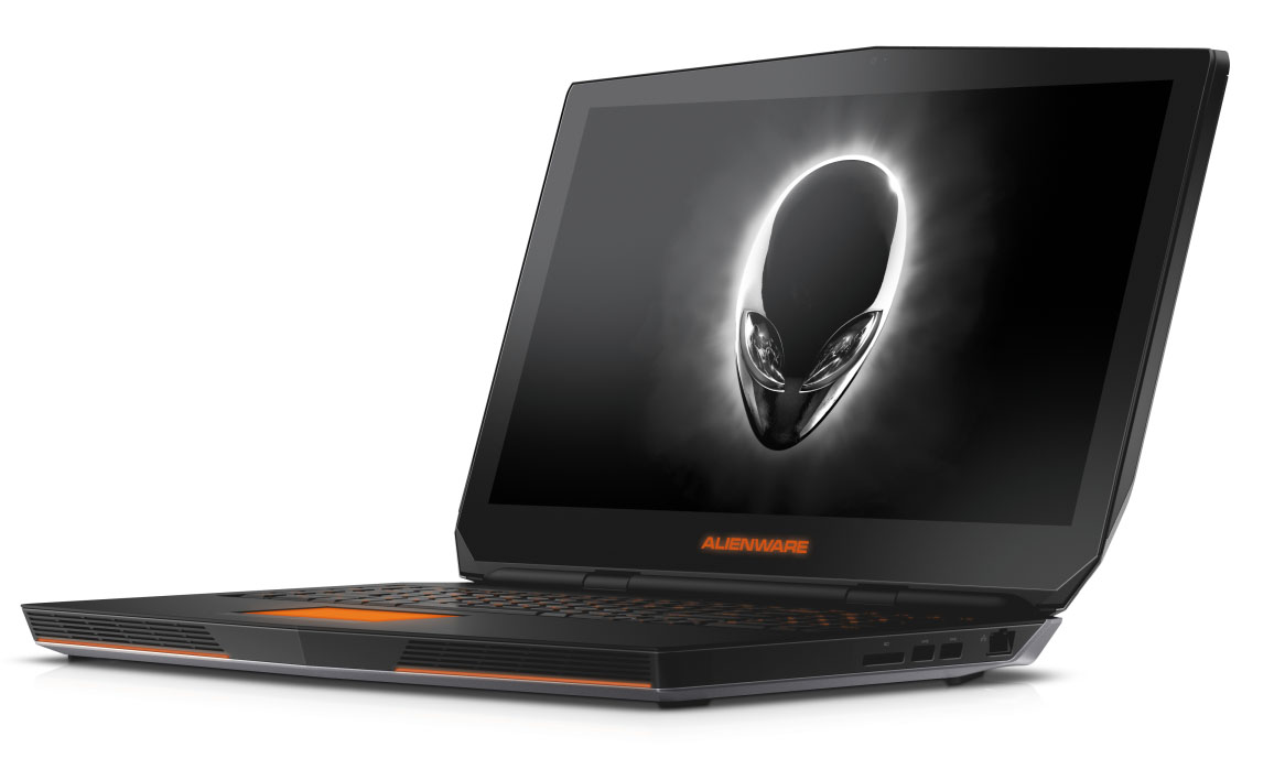 Alienware unveils slimmed-down gaming laptops