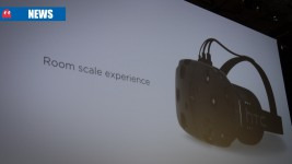 HTC Vive launch slide at MWC
