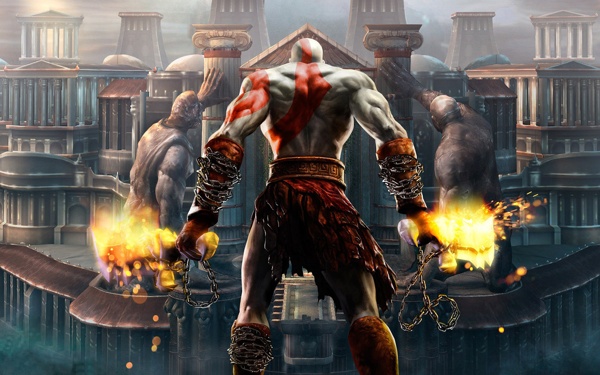A new God of War game on PS4 would be amazingly brutal.