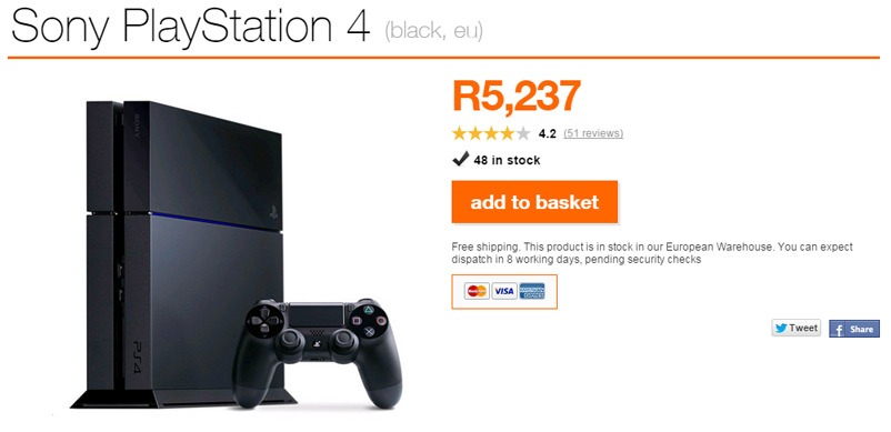 Tech Deals - PlayStation 4
