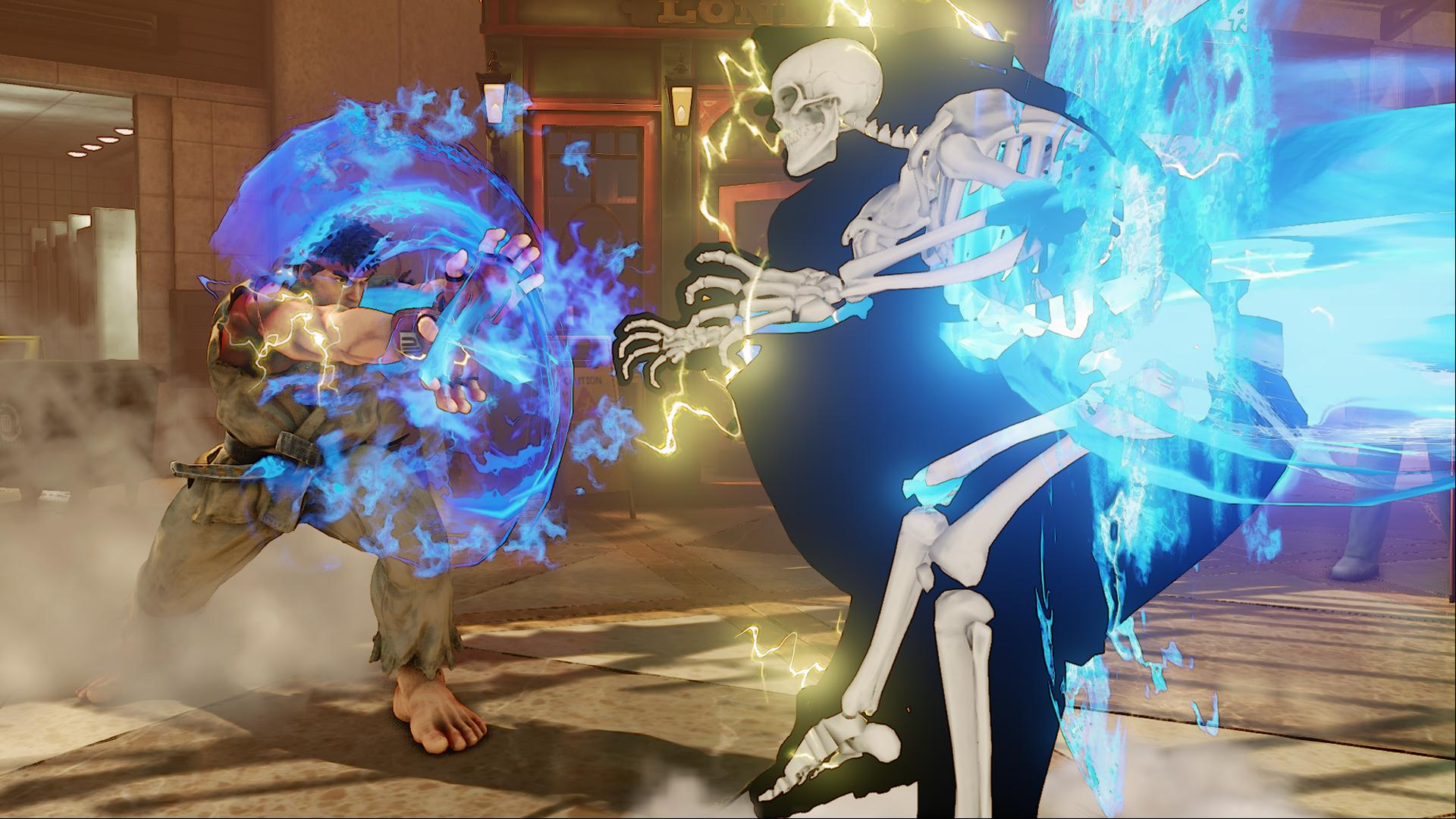 Street Fighter V - Characters Throwing Down (1)