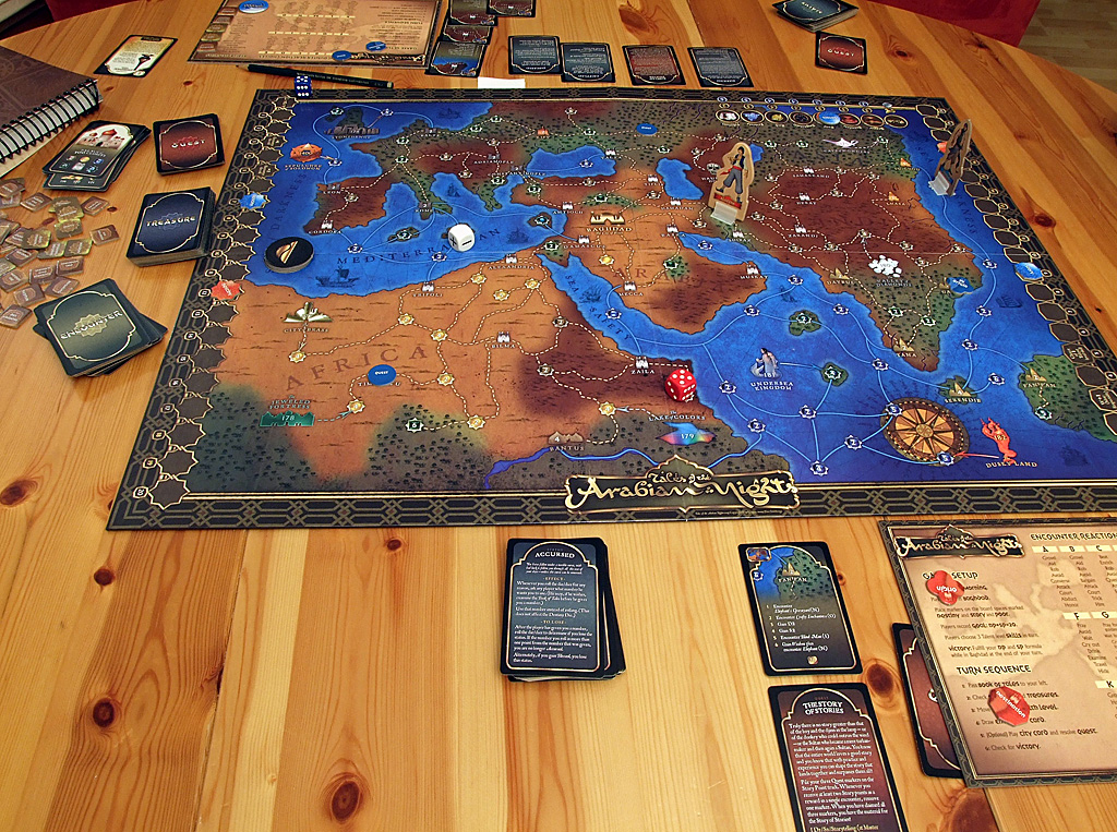 Story and Adventure Board Games - Tales of the Arabian Nights