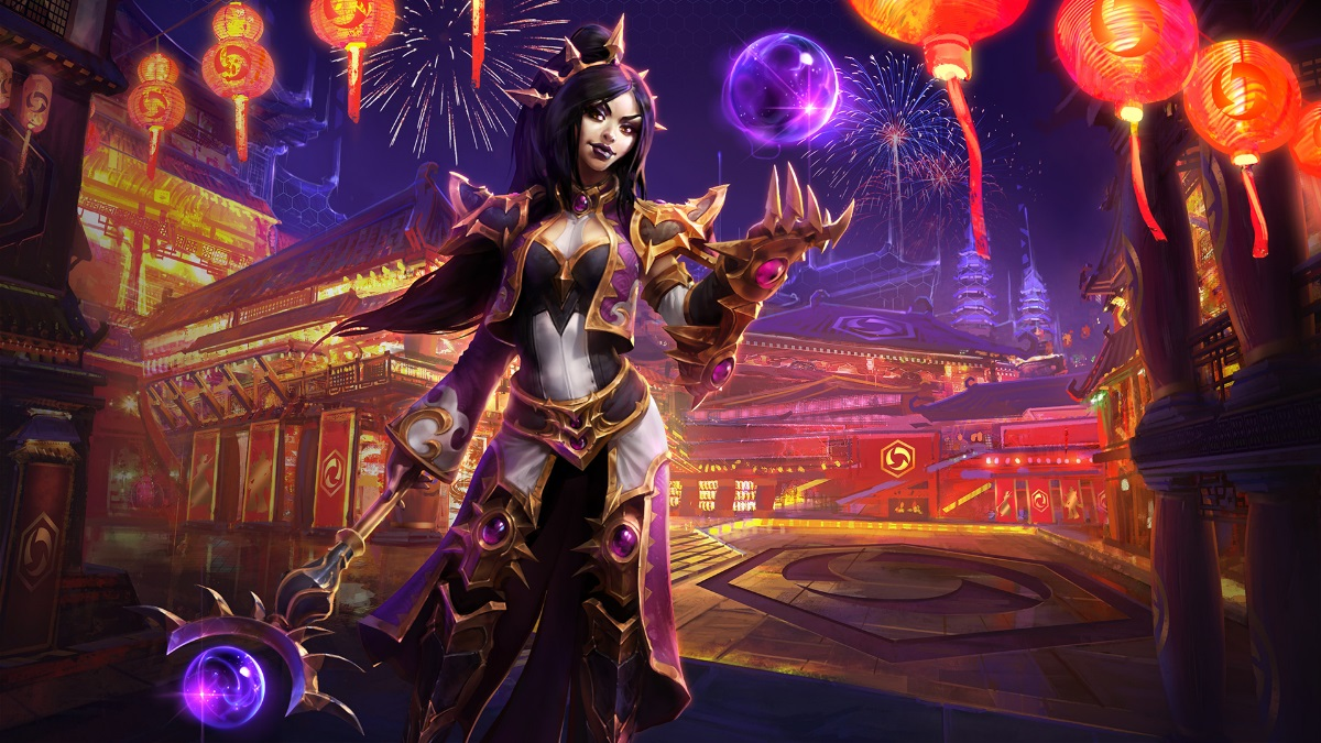 Heroes of the Storm - Wizard Li Ming