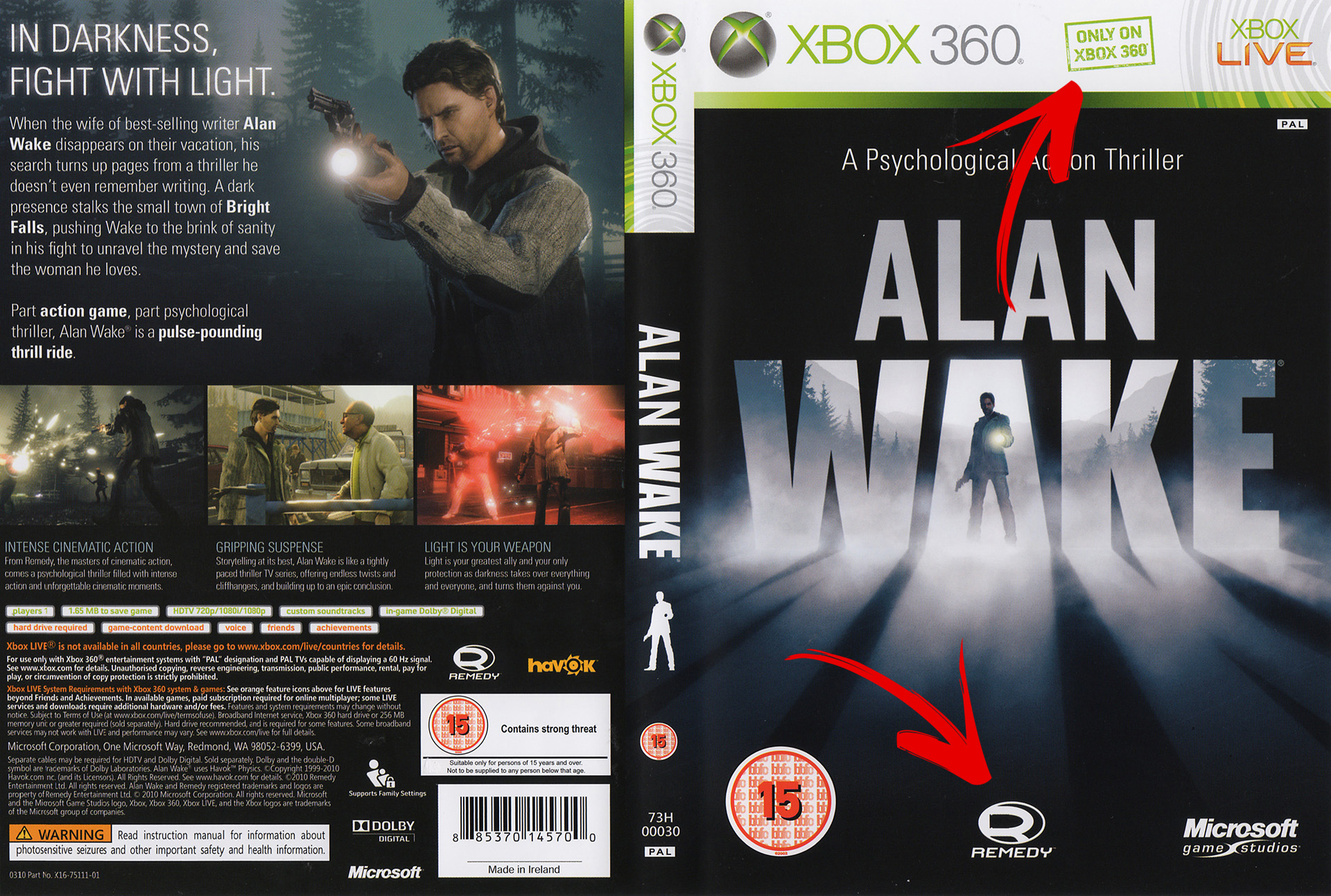 Alan Wake - Only on Xbox 360
