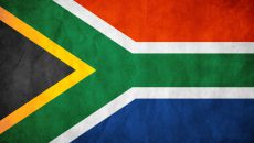 South African Flag clean