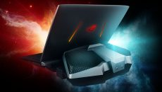 Crazy liquid-cooled laptops