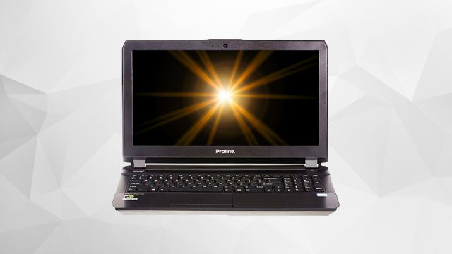 Proline P670re Intel Core I7 Gaming Notebook