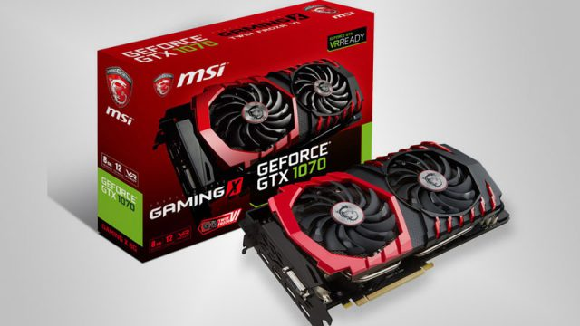 MSI GeForce GTX 1070 GAMING X Twin Frozr VI