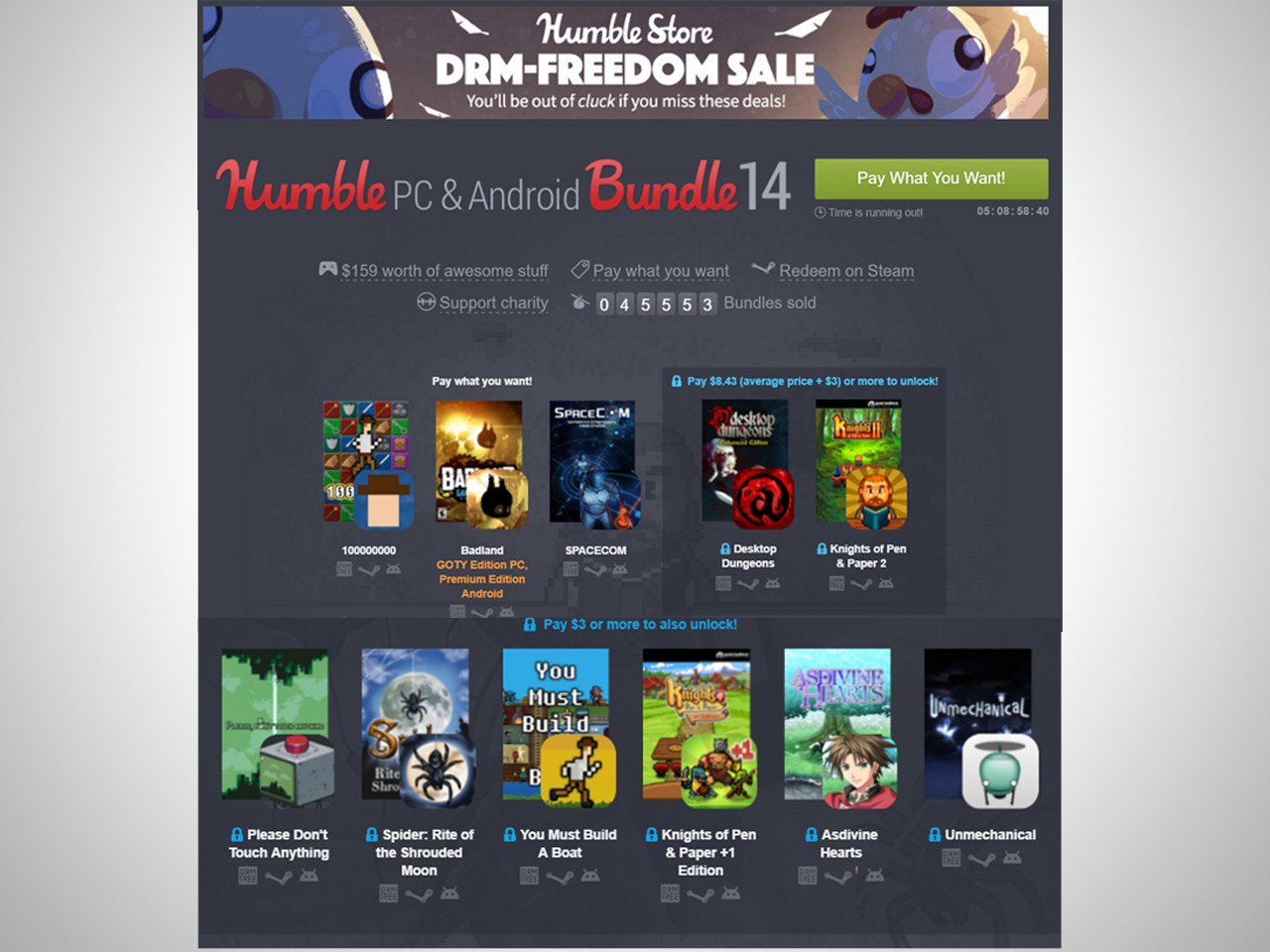 Humble Android Bundle