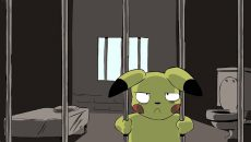 Pokemon jail