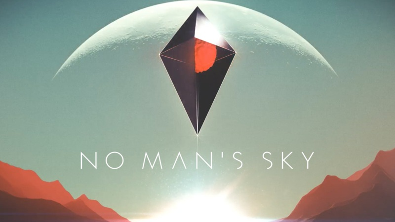 No Mans Sky icon logo splash screen thing