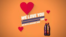 Lucozade competition header