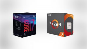 Intel 8 vs AMD Ryzen